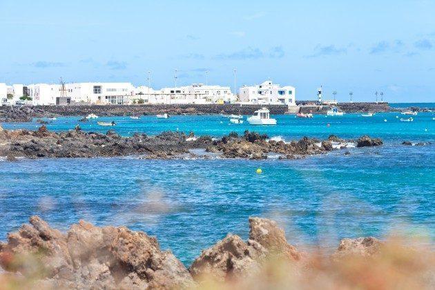 Blick auf den Ort Punta Mujeres