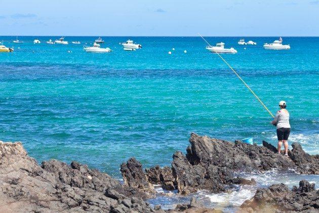 Blick auf das Meer bei Punta Mujeres
