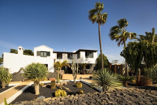 Spanien Kanaren Lanzarote Ferienhaus auf einer Finca