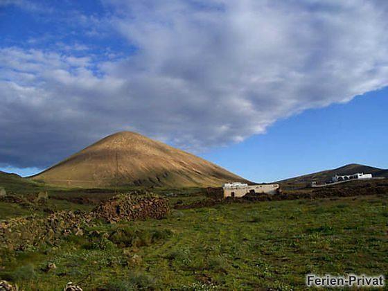 Blick auf die Vulkanberge