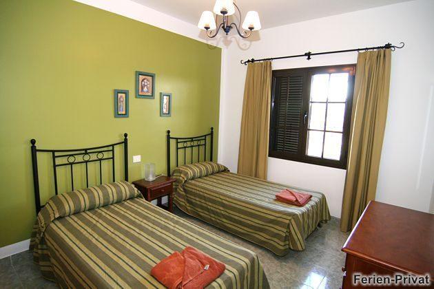 Wohnbeispiel Schlafzimmer mit Einzelbetten