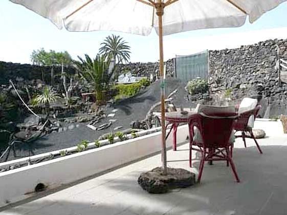 Terrasse Azul  und Garten