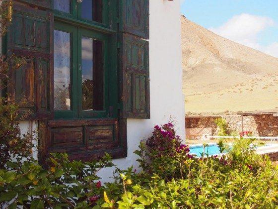 Haus und Blick auf die Umgebung