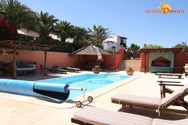 Spanien Insel Lanzarote Ferienhaus mit Pool