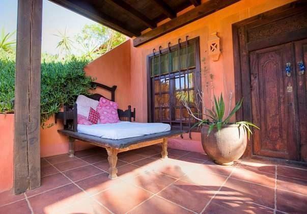 Terrasse mit Liege
