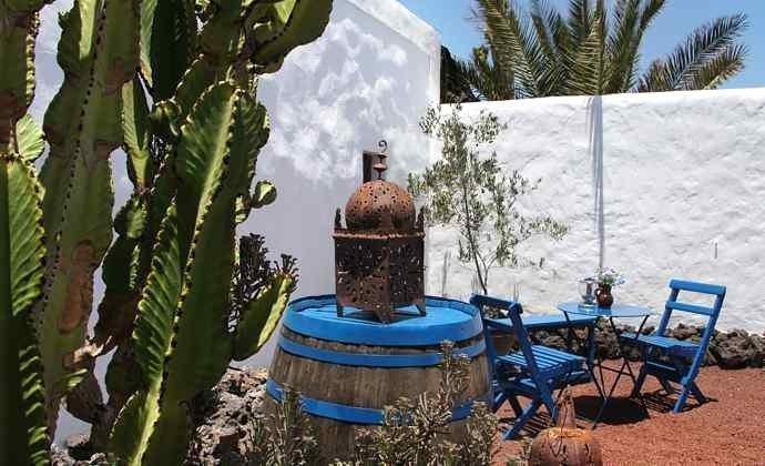 Kanaren Lanzarote Studio mit kleinem Garten