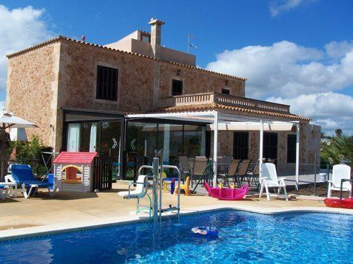 Ferienhaus Mallorca mit Reiturlaub-Möglichkeit