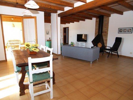 Spanien Mallorca Campos Ferienhaus Ref. 2455-100 Wohn-/Esszimmer