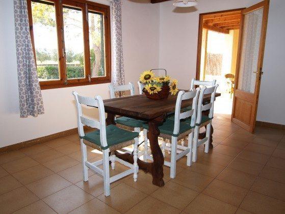 Spanien Mallorca Campos Ferienhaus Ref. 2455-100 Essbereich