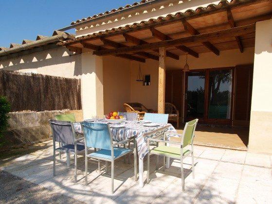 Spanien Mallorca Campos Ferienhaus Ref. 2455-100 Terrasse