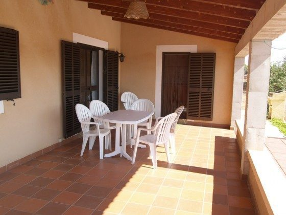 Terrasse - Ferienhaus Sa Tanca Mallorca - Objekt 2455-33
