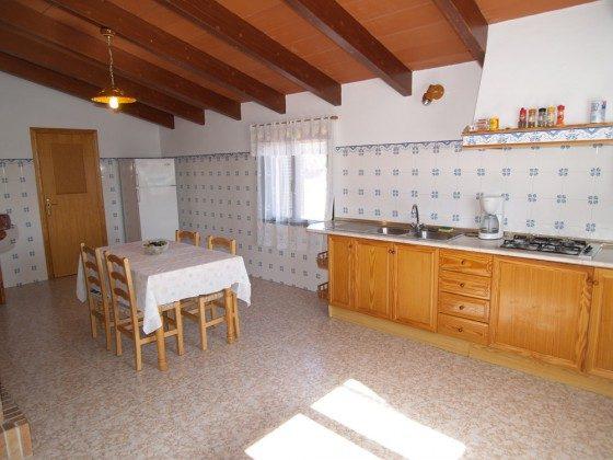 Essküche - Ferienhaus Sa Tanca Mallorca - Objekt 2455-33