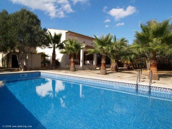 Swimmingpool - Mallorca Ferienhaus Campos Finca 2455-44