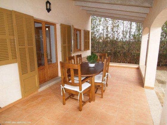Terrasse - Mallorca Ferienhaus Campos Finca 2455-44