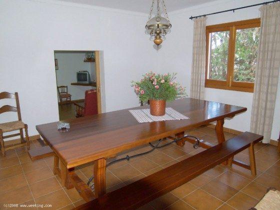 Esstisch - Mallorca Ferienhaus Campos Finca 2455-44
