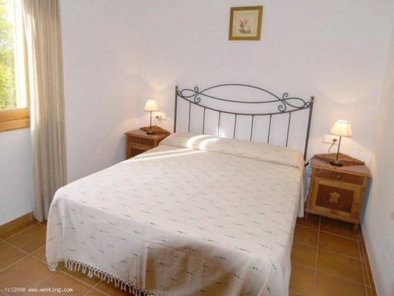 Doppelbett - Mallorca Ferienhaus Campos Finca 2455-44