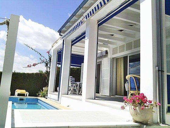 Terrasse Porto Cristo Ferienhaus Ref. 45563-11