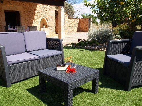 Ferienhaus Mallorca Santanyi 2455-31 Garten