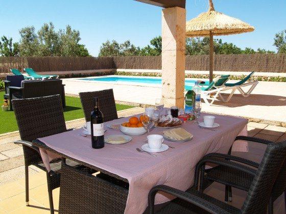 Ferienhaus Mallorca Santanyi 2455-31 Terrasse