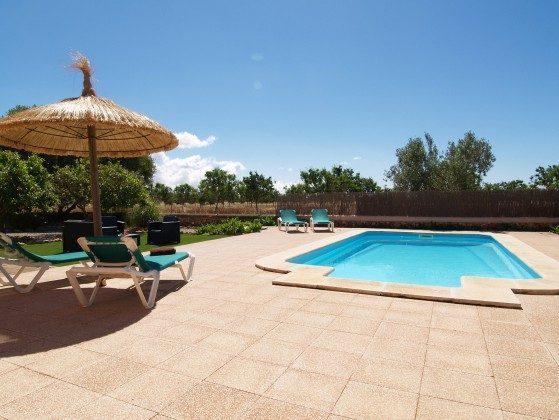 Ferienhaus Mallorca Santanyi 2455-31 Pool