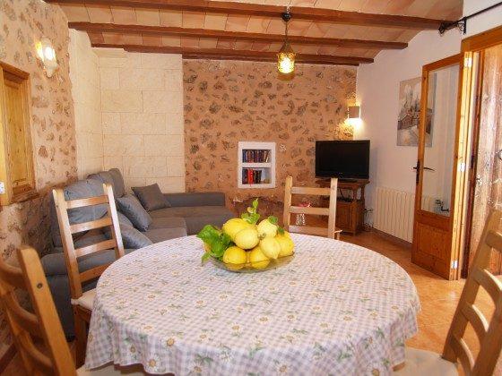 Ferienhaus Mallorca Santanyi 2455-31 Essbereich