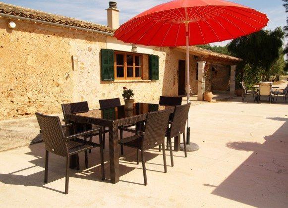 "Terrasse - Spanien Mallorca Ferienhaus ""Sa Rapita"" Ref.:2455-68"