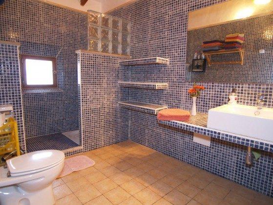 "Badezimmer - Spanien Mallorca Ferienhaus ""Sa Rapita"" Ref.:2455-68"
