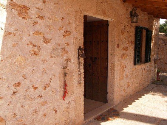 """Hauseingang - Spanien Mallorca Ferienhaus """"Sa Rapita"""" Ref.:2455-68"""