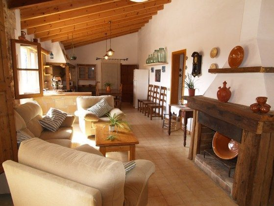 "Wohnzimmer - Spanien Mallorca Ferienhaus ""Sa Rapita"" Ref.:2455-68"