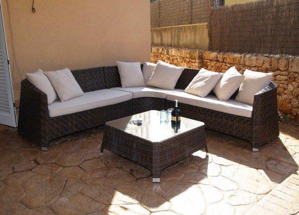Terrasse (Lounge-Ecke) Spanien Mallorca Sa Ràpita Ref. 2455-95