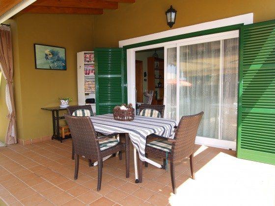 Spanien Mallorca Sa Ràpita Ferienhaus 2455-99 Terrasse