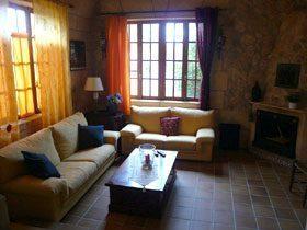 Ferienhaus Casa Nana Wohnung Piso Sol Wohnzimmer