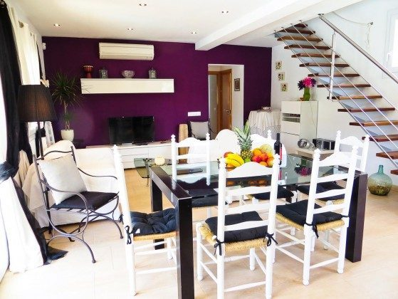 Mallorca Ferienhaus Ca´n Flores Wohnbereich