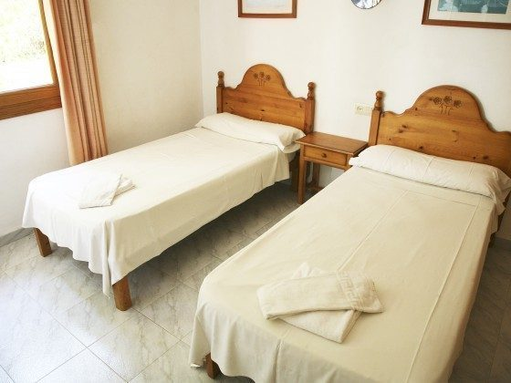 Schlafzimmer Ferienwohnungen Cala Santanyi
