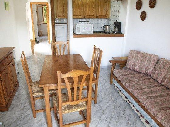 Wohnraum Ferienwohnungen Cala Santanyi