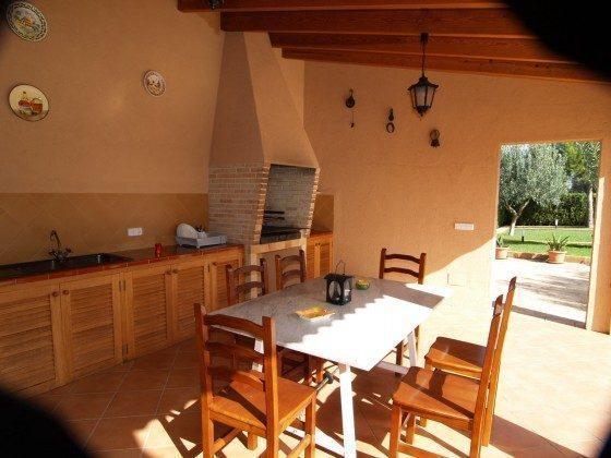 Außenküche - Mallorca Es Figueral d`en Vicens Ref.: 2455-42- Mallorca Es Figueral d`en Vicens 2455-42 - Objekt 2455-42