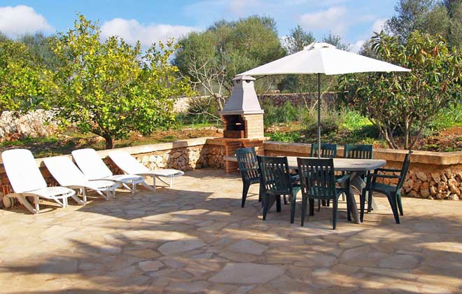 Terrasse 2 Ferienhaus Caseta Palea Mallorca Ref.:2455-77