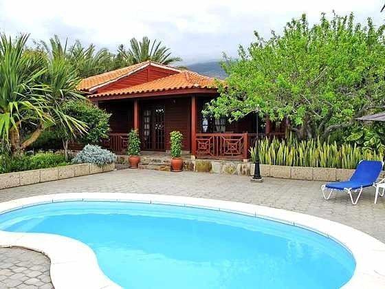 Teneriffa Kanarische Inseln Ferienhaus mit privatem Pool
