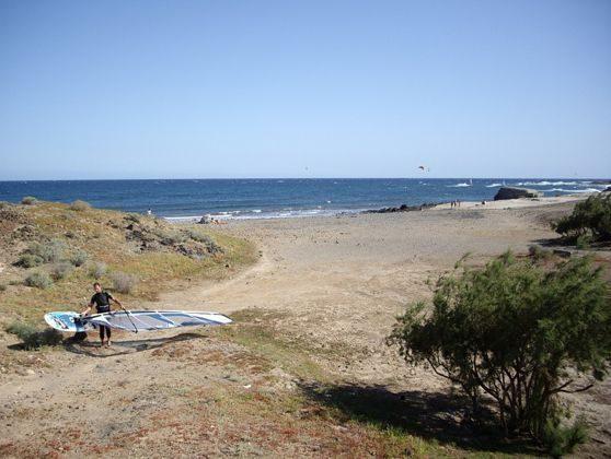 Strand ideal zum Surfen