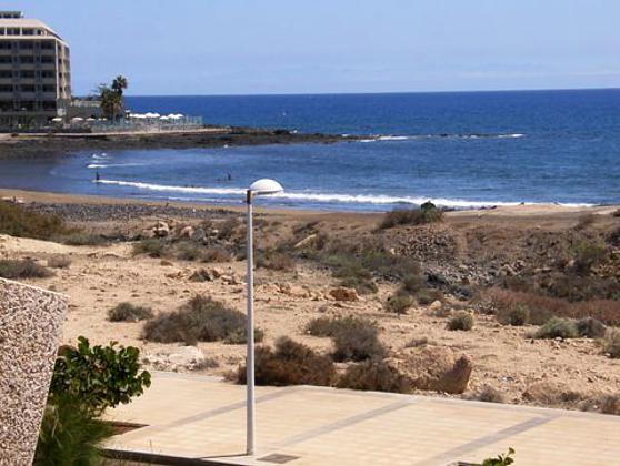 Ausblick auf Strand und Meer