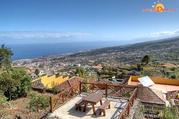Ferienhaus Teneriffa mit Ausblick auf Teide und Küste
