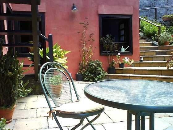 Häuschen mit privater Terrasse