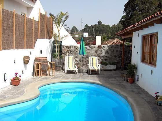 Kanarische Inseln Teneriffa Ferienhaus mit privatem Pool
