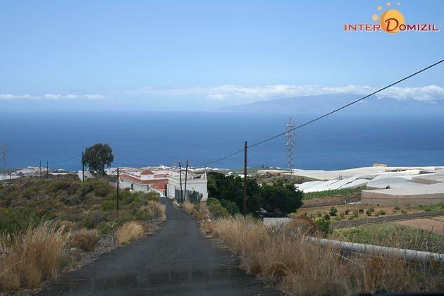 Blick auf die Küste und die Finca