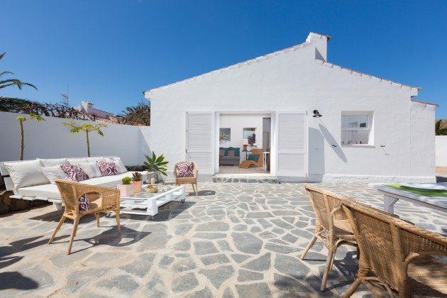 Wohnbeispiel: eigene, private Terrasse für jedes Haus