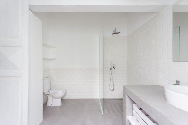 eines der Badezimmer