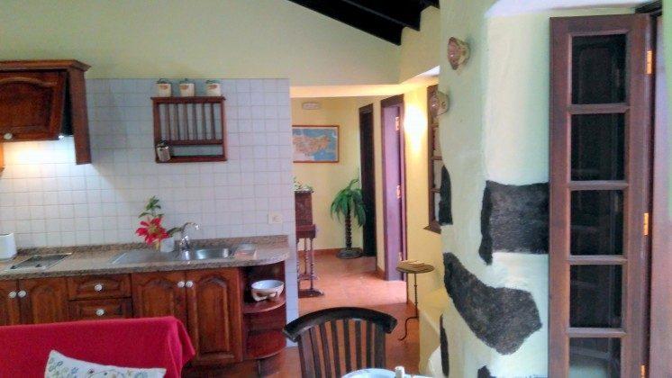 TF 151217 Wohnbeispiel Wohnraum mit Küchenzeile, Haus A