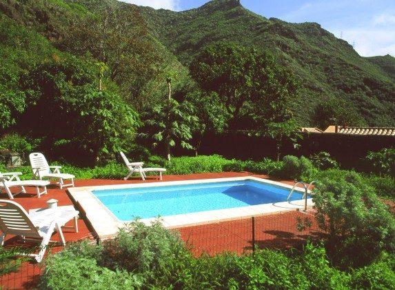 Spanien Kanarische Inseln Finca Teneriffa mit Pool