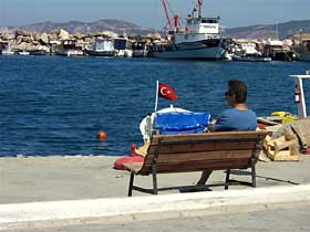 Yenifoca Ferienhaus am Meer
