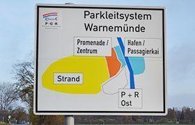 Das Parkleitsystem